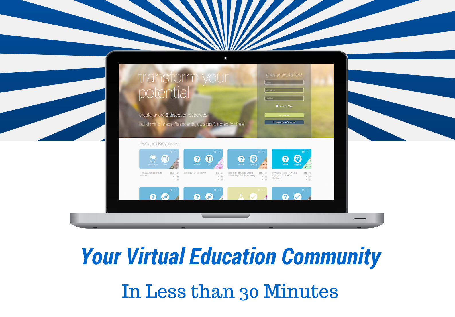 how to create a Online Education Community using ExamTime