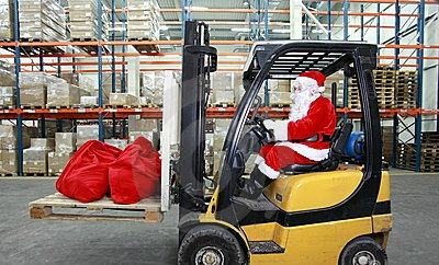 What to study to become Santa Claus - Logistics