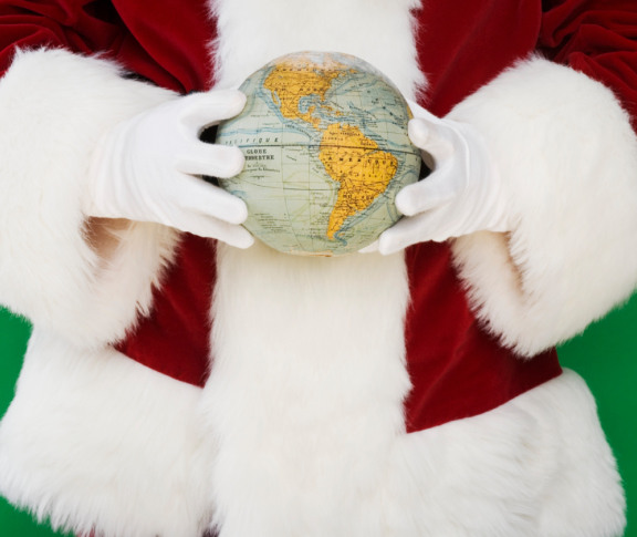 What to study to become Santa Claus - Geography