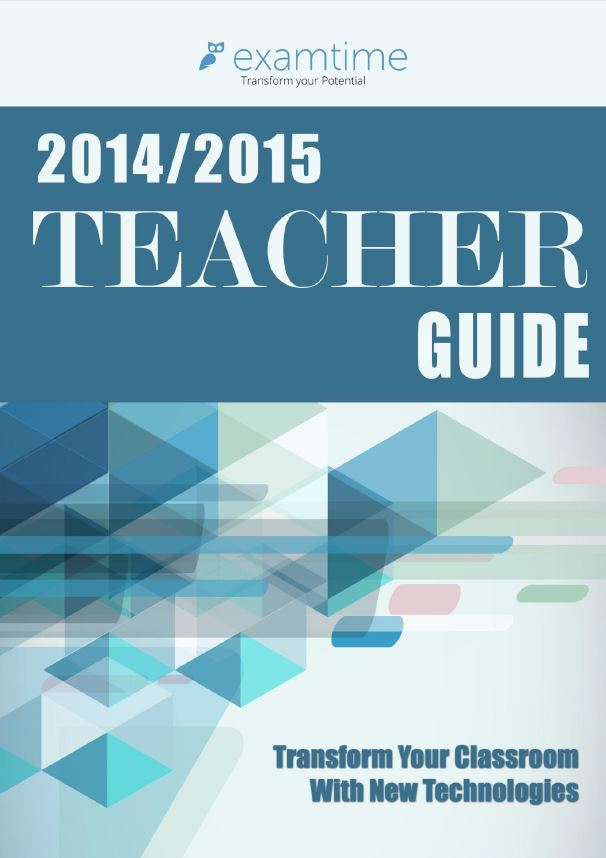 Technology in education: Teacher Guide
