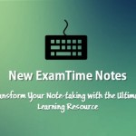 New ExamTime Notes