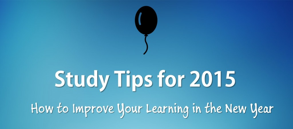 study tips for the new year