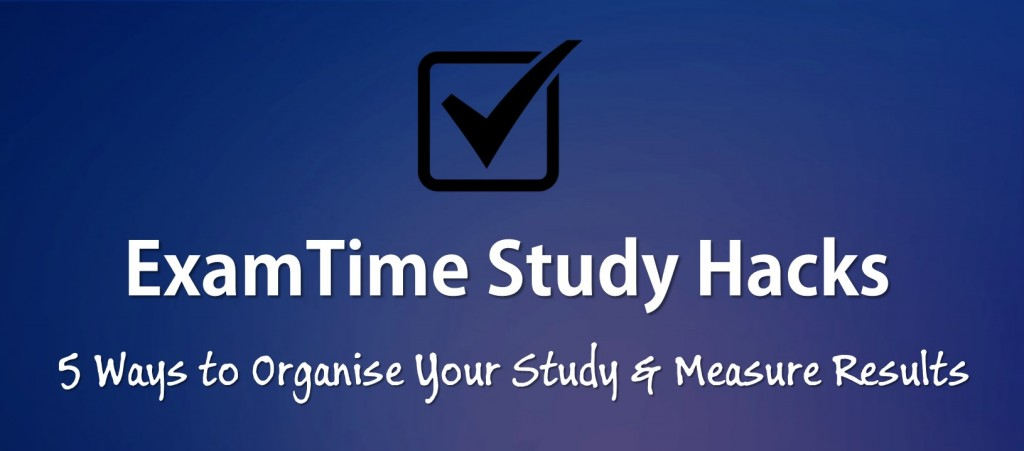 organise your study
