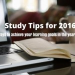 Study tips for 2017